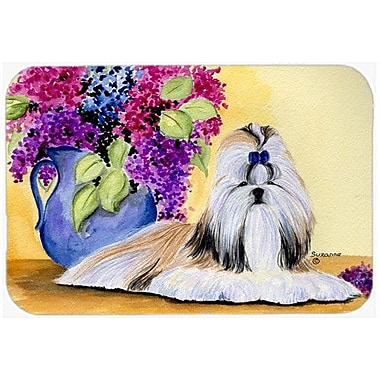 Caroline's Treasures Shih Tzu Kitchen/Bath Mat; 24'' H x 36'' W x 0.25'' D