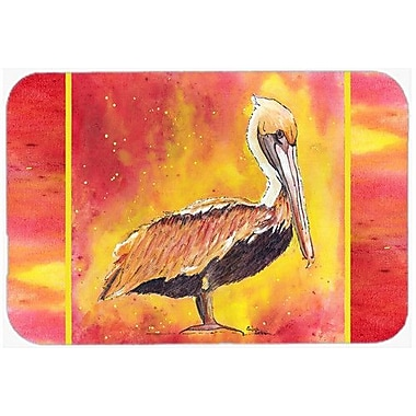 Caroline's Treasures Pelican Kitchen/Bath Mat; 24'' H x 36'' W x 0.25'' D