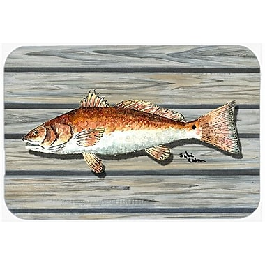 Caroline's Treasures Fish Kitchen/Bath Mat; 24'' H x 36'' W x 0.25'' D