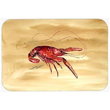 Caroline's Treasures Crawfish Kitchen/Bath Mat; 24'' H x 36'' W x 0.25'' D