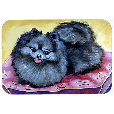 Caroline's Treasures Pomeranian Kitchen/Bath Mat; 20'' H x 30'' W x 0.25'' D