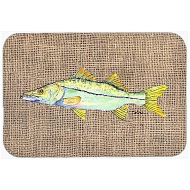 Caroline's Treasures Fish Snook Kitchen/Bath Mat; 24'' H x 36'' W x 0.25'' D
