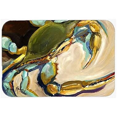 Caroline's Treasures Crab Kitchen/Bath Mat; 20'' H x 30'' W x 0.25'' D