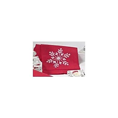 Saro Snowflake Hand Towel