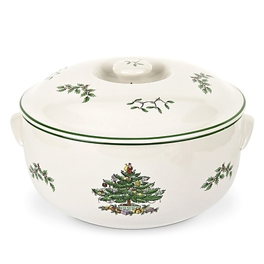 Spode 2 Qt. Round Covered Deep Dish