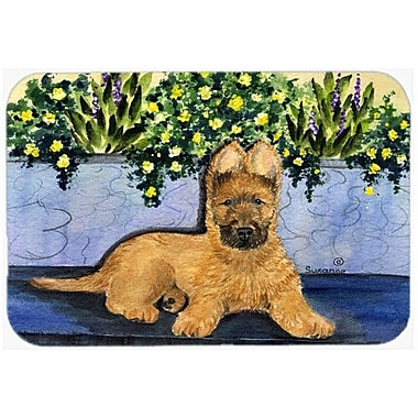 Caroline's Treasures Briard Kitchen/Bath Mat; 24'' H x 36'' W x 0.25'' D