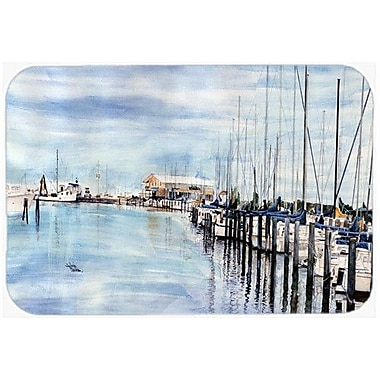 Caroline's Treasures The Warf Kitchen/Bath Mat; 20'' H x 30'' W x 0.25'' D