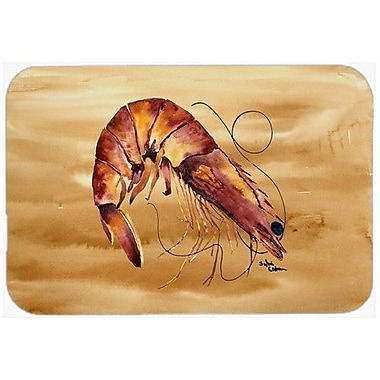 Caroline's Treasures Shrimp Kitchen/Bath Mat; 20'' H x 30'' W x 0.25'' D