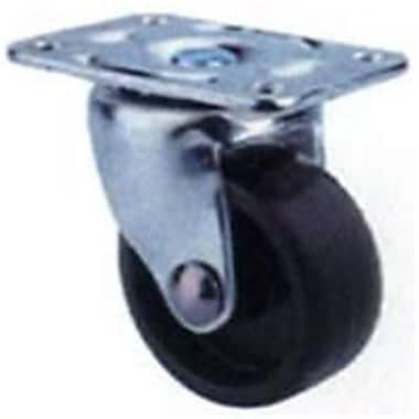 MintCraft 1.25in Black and Zinc Plate Caster (ORGL38825)