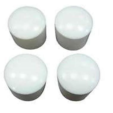 Mintcraft FE,50612 0.62 in. White Plastic Leg Tip