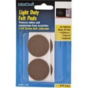 MintCraft 1.37in Light-Duty Felt Pads (ORGL35986)