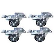 Vulcan 5in Caster, 4-Piece Set (ORGL32493)