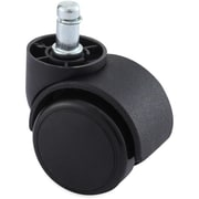 Lorell Soft Wheel B-Stem Oversized Safety Casters (RTL152829)