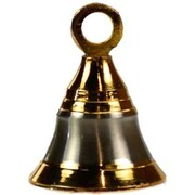 Azure Green Brass Two-Tone Bell, 2in (AGFB106G)