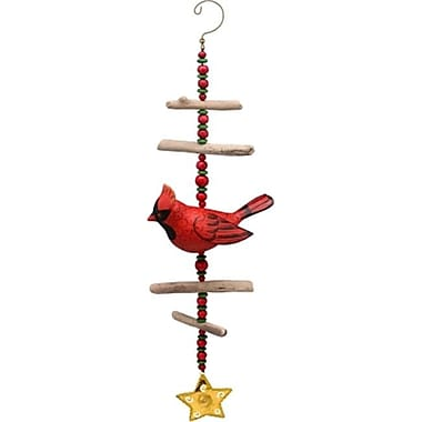 Songbird Essentials Cardinal Driftwood Sculpture