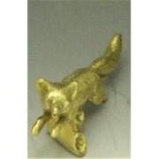 Mayer Mill Brass Fox Hood Ornament (MYRMB155)