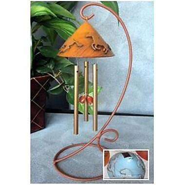Sunblossom Solar Gifts Saddle Up Sunchime, Turquoise (SSG110)