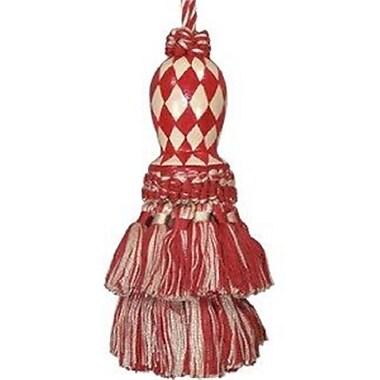 123 Creations Harlequin Hand-Painted Tassel, Red (CREATE742)
