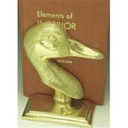 Mayer Mill Brass Goose Book Ends, L and R, Pair (MYRMB570)