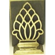 "Mayer Mill Brass Pineapple Book Ends, 8""H x 5.5""W x 2.5""D (MYRMB543)"