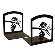 Village Wrought Iron BE,89 Pinecone Bookends