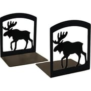 Village Wrought Iron Moose Bookends (VW015)