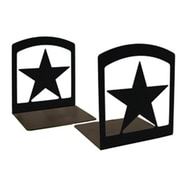 Village Wrought Iron BE,45 Star Bookends