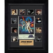 Film Cells Star Wars: A New Hope, S1, Mini Montage, Special Edition, 13in x 11in, Framed (FLMC796)