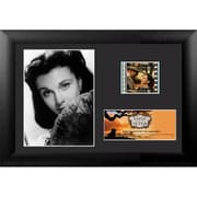 "Film Cells Gone With The Wind, S10, Minicell, 7"" x 5"", Black MDF Frame (FLMC692)"