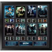 """Film Cells Harry Potter 1, 7 Finale, S3, Mixed Montage, 20"""" x 19"""", Black MDF Frame (FLMC867)"""