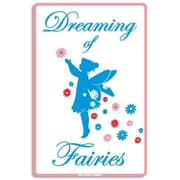 "Seaweed Surf Co 12"" x 18"" Aluminum Sign ""Dreaming of Fairies"" (SURF186)"