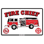 "Seaweed Surf Co 12"" x 18"" Aluminum Sign ""Fire Chief"" (SURF203)"