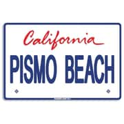Seaweed Surf Co AA53 12X18 Aluminum Sign Pismo Beach