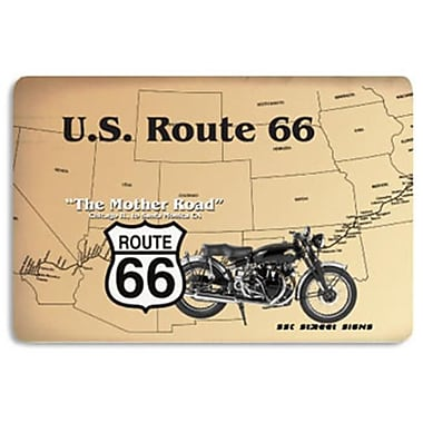 Seaweed Surf Co Route 66 Aluminum Sign 12