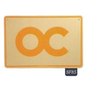 "Seaweed Surf Co 12"" x 18"" Aluminum Sign ""OC"" (SURF085)"