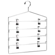 Organize It All 4 Tier Swing Arm Slack Rack With Clips (JNSN14666)