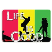 "Seaweed Surf Co 12"" x 18"" Aluminum Sign ""Life is Good"" (SURF271)"