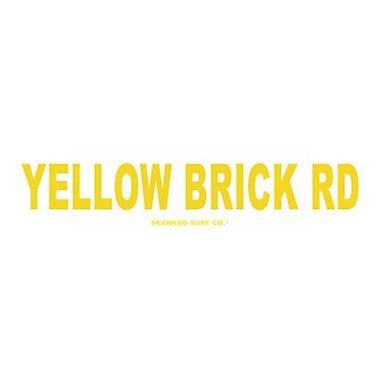 Seaweed Surf Co Yellow Brick Rd Aluminum Sign, 4