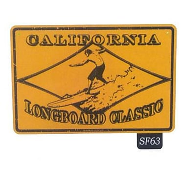 Seaweed Surf Co California Longboard Classic Sign, 12