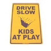"Seaweed Surf Co Kids At Play Aluminum Sign, 12""W x 18""H (SURF029)"