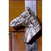 Mayer Mill Brass WHH-C Horse Head Wreath Hanger, Chrome (MYRMB388)