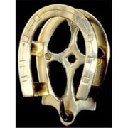 Mayer Mill Brass Horseshoe Bridle Hook (MYRMB228)