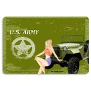 Seaweed Surf Co AA99 12X18 Aluminum Sign Us Army