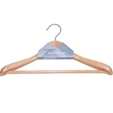 HOMEBASIX Premium Suit Hanger, Natural (ORGL38145)