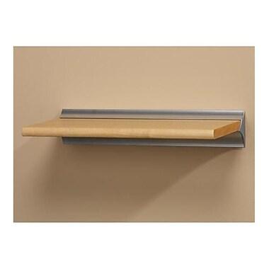 Amore Designs Wood Shelving Classique Beech Shelf, 12in x 32in