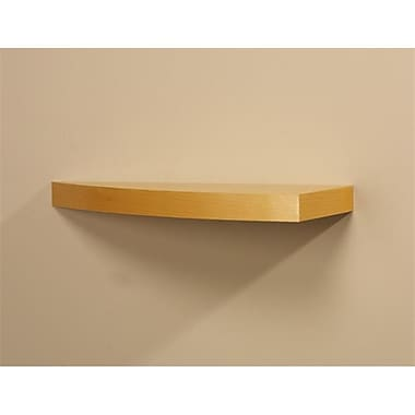 Amore Designs Wood Shelving Grande Beech Curved Shelf (LTLH206)