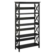 Convenience Concepts Oxford 5-Tier Bookcase with Black Finish (RTL52428)