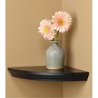 Amore Designs Wood Shelving Villages Pecan Corner Shelf (LTLH224)