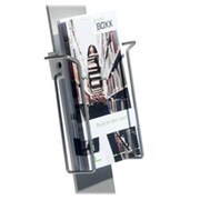 "Durable Office Products Corp. DBL486423 Duo Sign Stand Literature Dispenser, 9.25""H x 9.50""W x 2.62""D (SPRCH20323)"