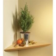 "Knape & Vogt Instant Corner Shelf Pack, Oak, 17""L x 17""W (JNSN27034)"